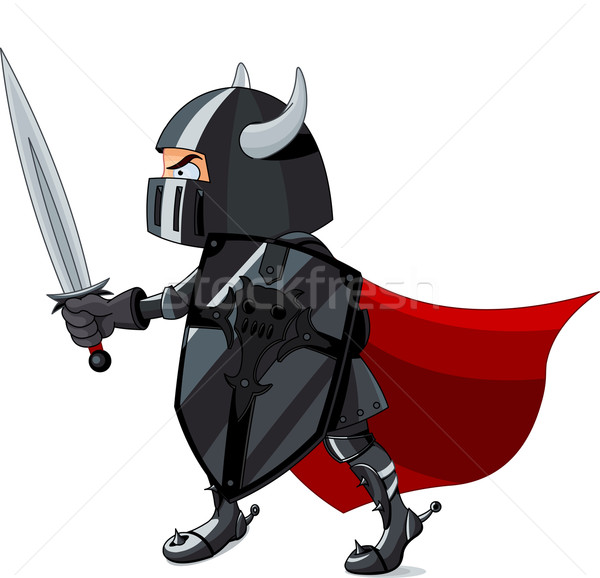 Fighting  Knight Stock photo © Dazdraperma