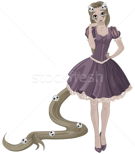 Halloween Princess Stock photo © Dazdraperma