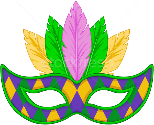 Mardi Gras mask Stock photo © Dazdraperma