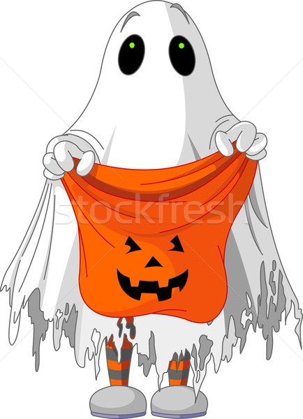 Ghost trick or treating  Stock photo © Dazdraperma