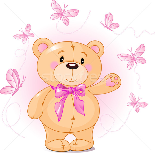 Teddy Bear Stock photo © Dazdraperma