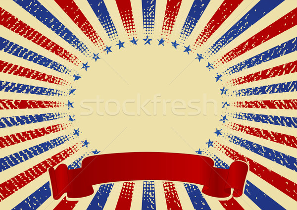 USA radial background Stock photo © Dazdraperma