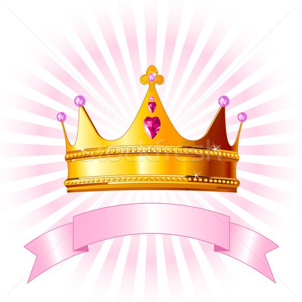 Сток-фото: Принцесса · корона · карт · красивой · успех · обои