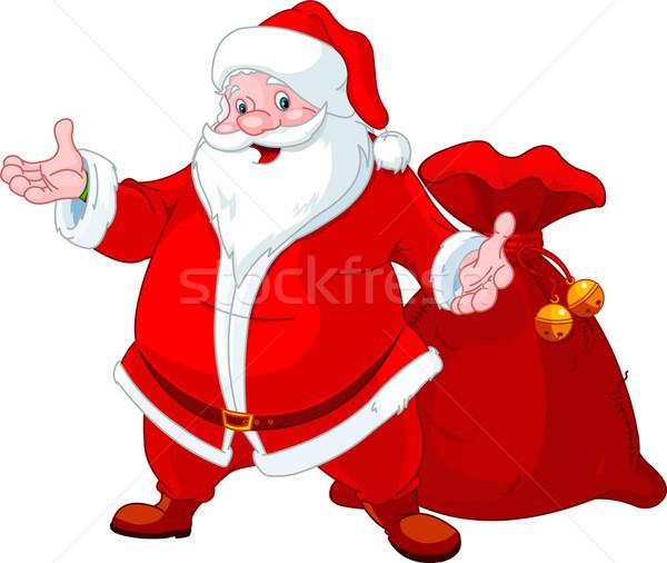 Happy Santa Stock photo © Dazdraperma