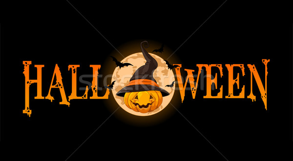 Halloween Pumpkin banner Stock photo © Dazdraperma