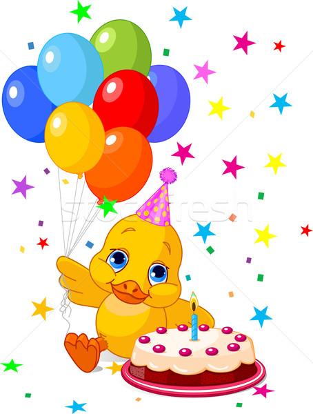 Duckling's Birthday  Stock photo © Dazdraperma