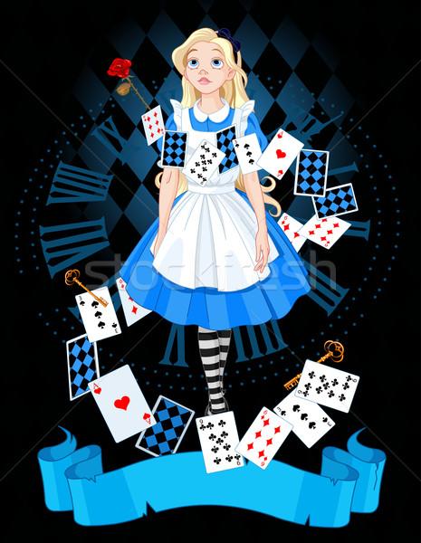 Alice in wonderland Stock photo © Dazdraperma