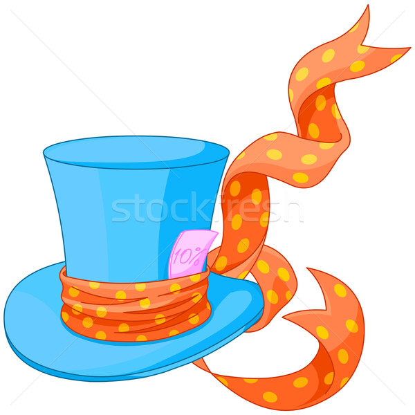 Top hat of Mad Hatter Stock photo © Dazdraperma