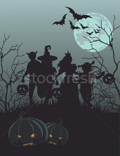 Halloween Background  Stock photo © Dazdraperma