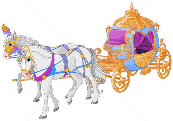The Golden Carriage Stock photo © Dazdraperma