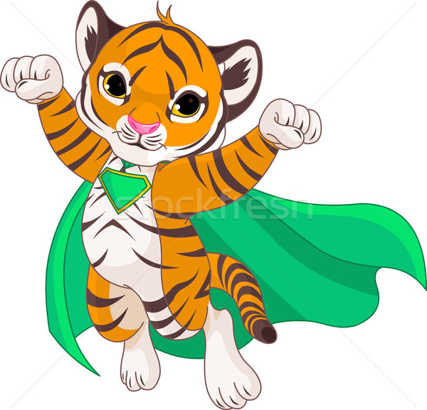 Super Tiger Stock photo © Dazdraperma