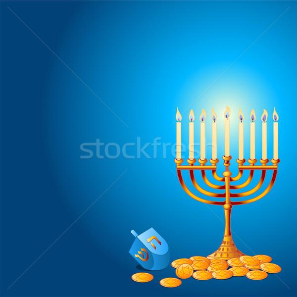 Hanukkah Background Stock photo © Dazdraperma
