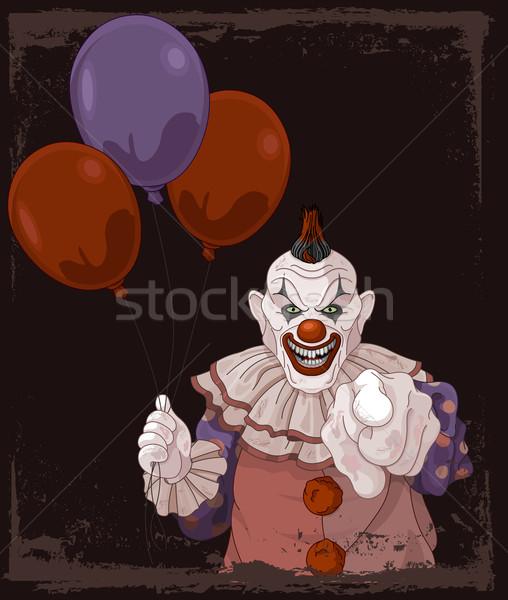 Scary Clown Stock photo © Dazdraperma