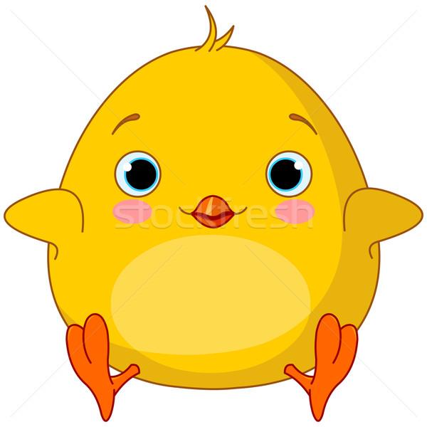 Yellow Chick  Stock photo © Dazdraperma