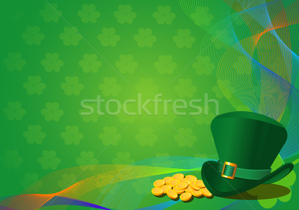 St Patricks Day Kobold hat Stock foto © Dazdraperma