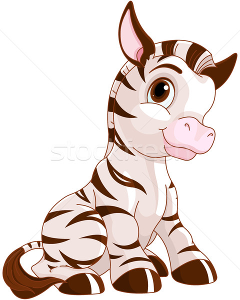 Cute Zebra  Stock photo © Dazdraperma