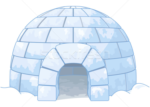 Igloo Stock photo © Dazdraperma