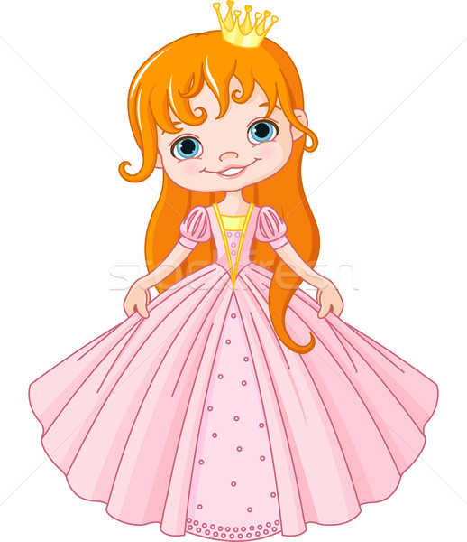 Little princess Stock photo © Dazdraperma