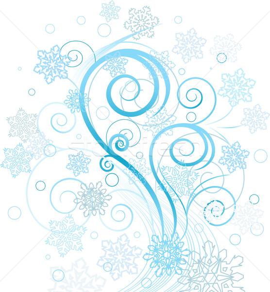 Winter swirl Stock photo © Dazdraperma