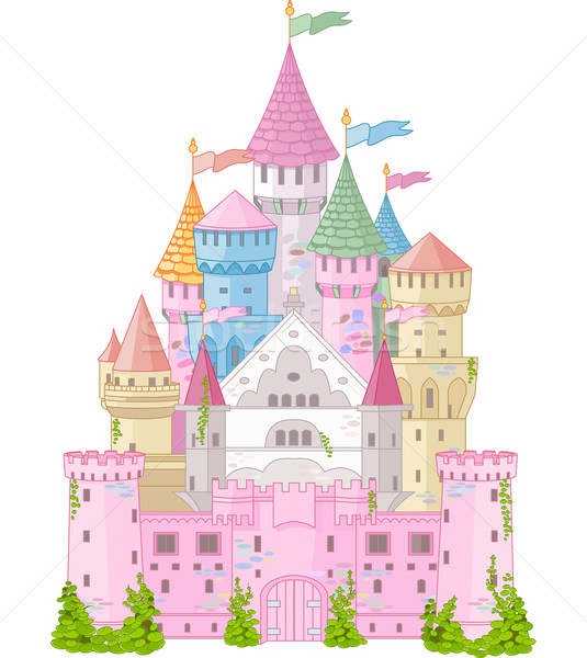 Fairy Tale Castle Stock photo © Dazdraperma
