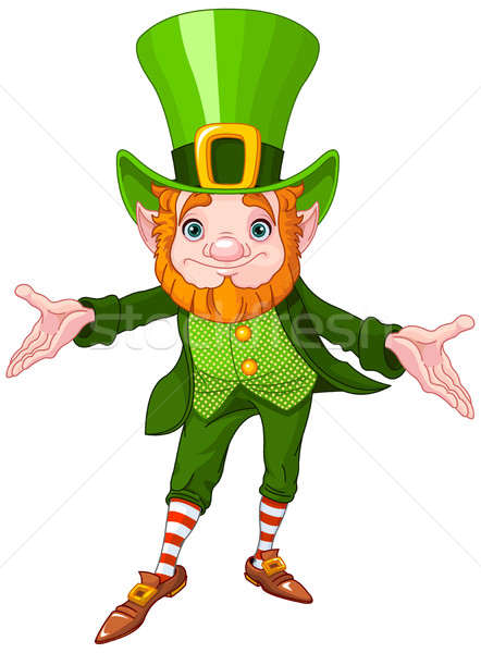 Lucky Leprechaun Stock photo © Dazdraperma