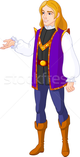 Prince charming  Stock photo © Dazdraperma
