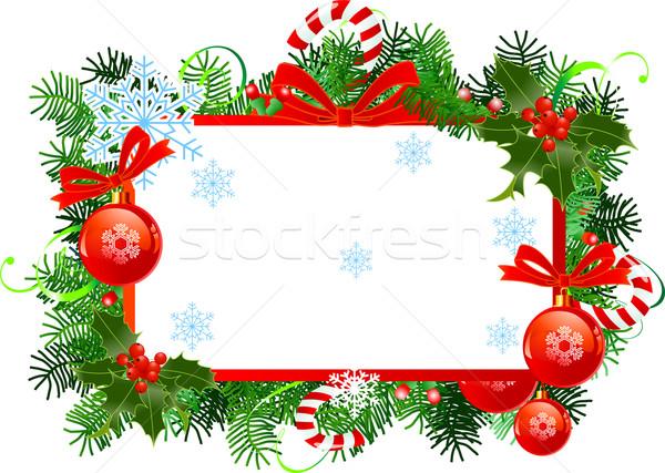 weihnachten rahmen rot abstrakten hintergrund. Black Bedroom Furniture Sets. Home Design Ideas