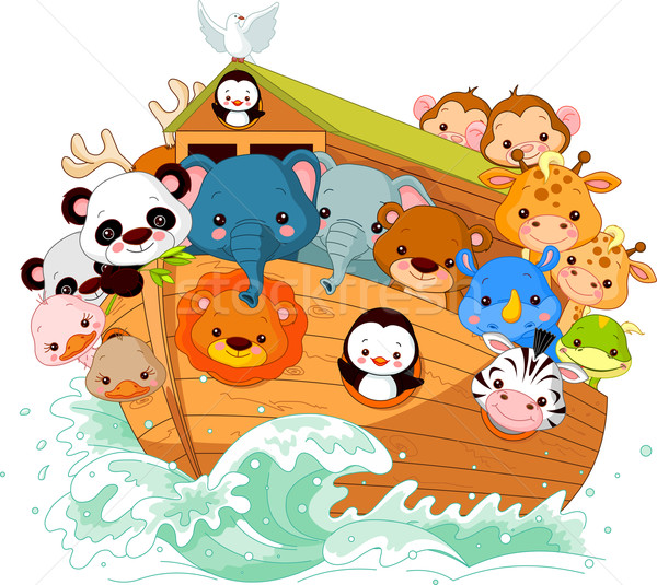Noah's Ark Stock photo © Dazdraperma