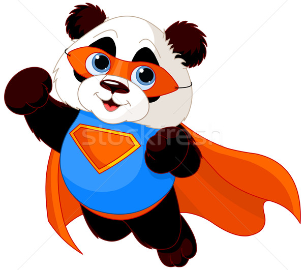 Super Panda Stock photo © Dazdraperma