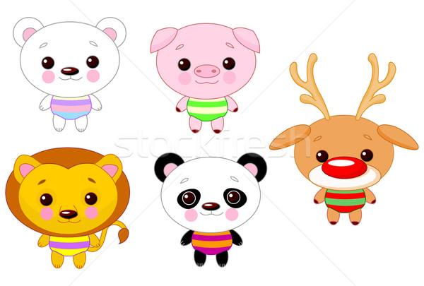 Cute animals  Stock photo © Dazdraperma