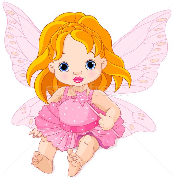 Cute Baby Fairy Stock photo © Dazdraperma