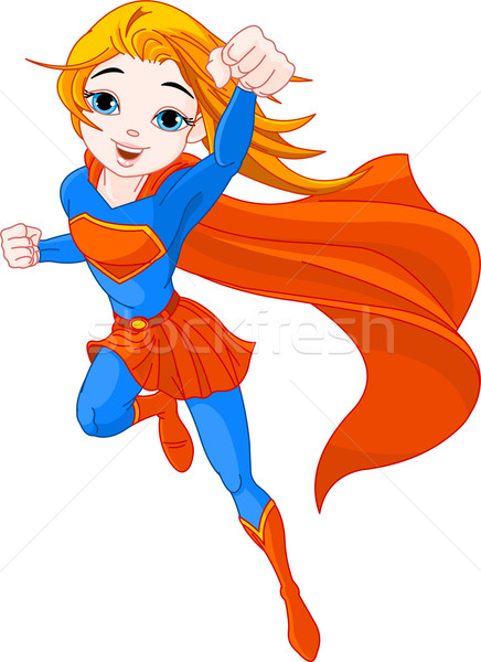 Super Girl Stock photo © Dazdraperma
