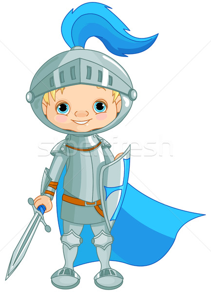 Brave Knight Stock photo © Dazdraperma