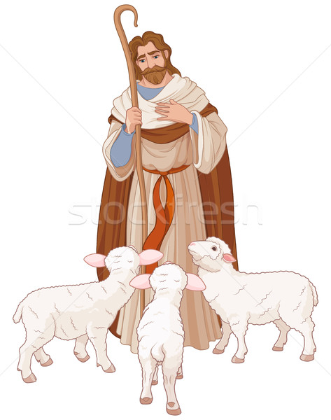The Good Shepherd Stock photo © Dazdraperma