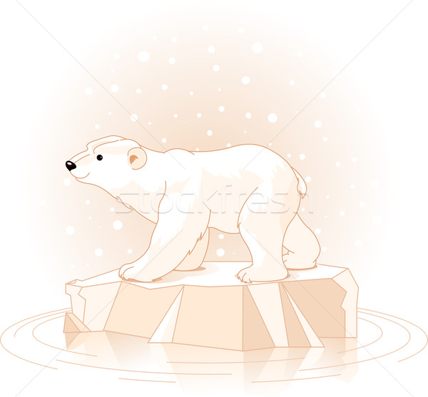 Polar Bear  Stock photo © Dazdraperma