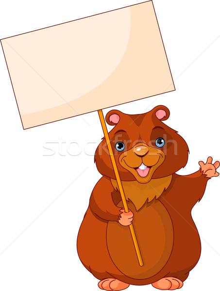 Groundhog Day Sign Stock photo © Dazdraperma