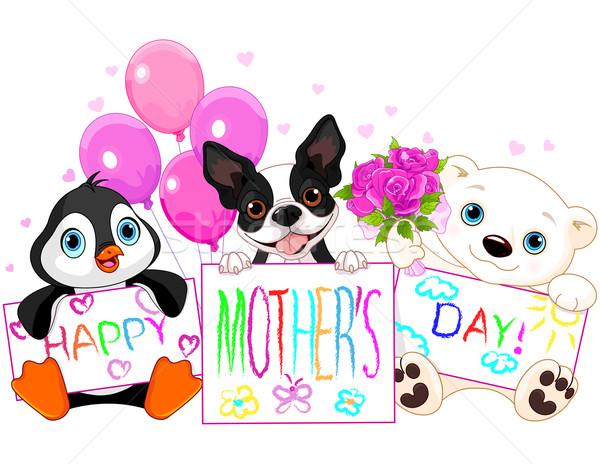 Mother Day Stock photo © Dazdraperma