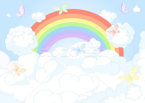 Rainbow Sky Stock photo © Dazdraperma