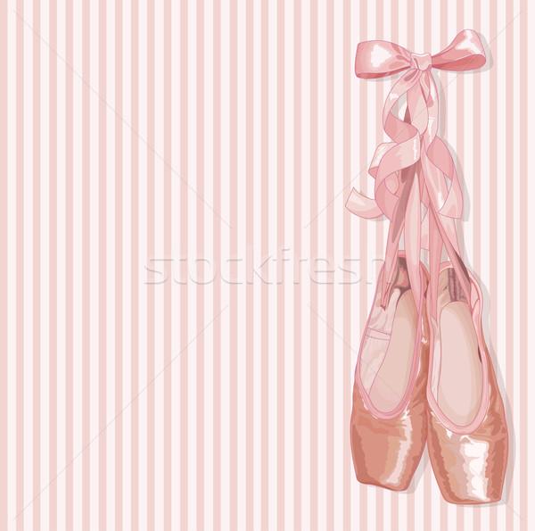 Ballet Slippers  Stock photo © Dazdraperma