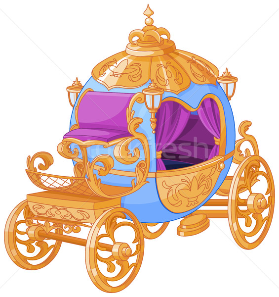 Cinderella Fairy Tale  Carriage Stock photo © Dazdraperma