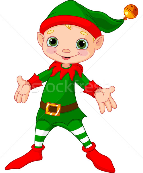 Happy Christmas Elf  Stock photo © Dazdraperma
