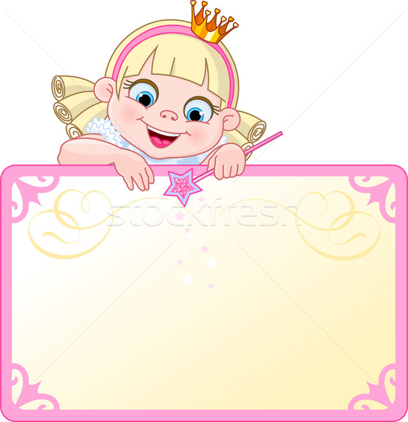 Princess Invite or Placard Stock photo © Dazdraperma