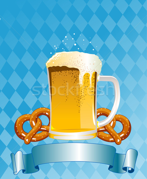 Oktoberfest Celebration Background Stock photo © Dazdraperma