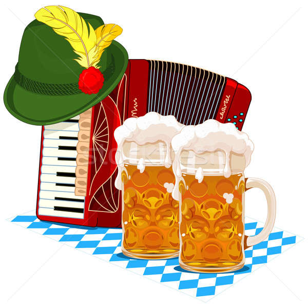 Oktoberfest design Stock photo © Dazdraperma