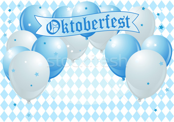Stock photo: Oktoberfest Celebration Balloons