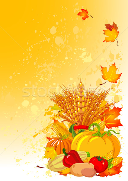 Harvest background Stock photo © Dazdraperma