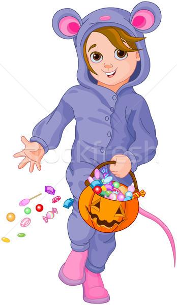 Halloween Mouse Child  Stock photo © Dazdraperma