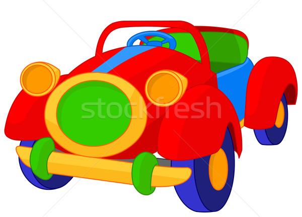 Toy cabriolet Stock photo © Dazdraperma