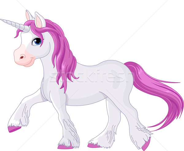 Quietly going unicorn Stock photo © Dazdraperma