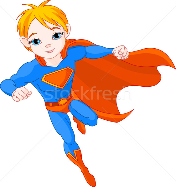 Super  Boy Stock photo © Dazdraperma